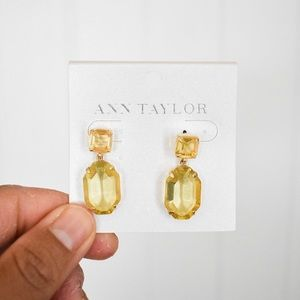 Ann Taylor Jewel Earrings